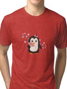 Japanese Penguin   Tri-blend T-Shirt