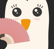 Japanese Penguin   Sticker