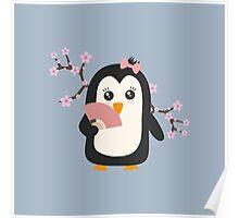 Japanese Penguin   Poster