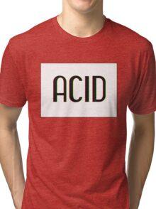 Acid Logotype Tri-blend T-Shirt