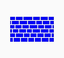 Blue Brick - White Lines Unisex T-Shirt