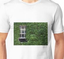 Window on leafy Cotswolds house facade, UK Unisex T-Shirt