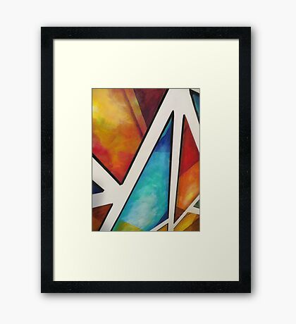 Sometimes life is a 'Puzzle' Framed Print