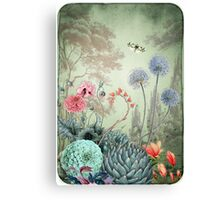 The garden of Marie Antoinette Canvas Print