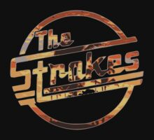 Strokes logo Tropical T-Shirt