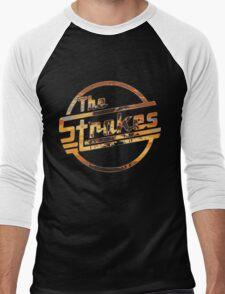 Strokes logo Tropical Men's Baseball ¾ T-Shirt
