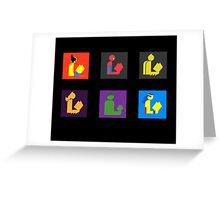 Readers Assemble vol. 2 Greeting Card