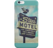 The Stars Motel in Chicago 2 iPhone Case/Skin
