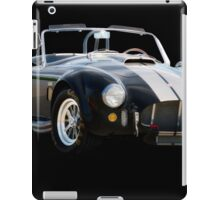 1966 Shelby Cobra 'Raiders' Roadster iPad Case/Skin
