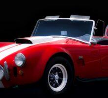 1966 Shelby Cobra 'Little Red' Roadster Sticker