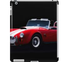1966 Shelby Cobra 'Little Red' Roadster iPad Case/Skin