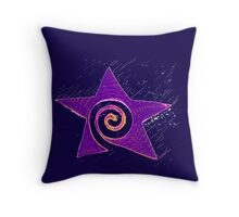 Spiraling Star * Throw Pillow