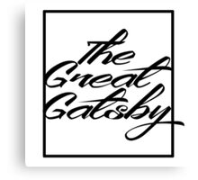 The Great Gatsby [2] Canvas Print