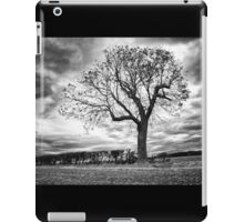End of Summer - Black and white Tree iPad Case/Skin