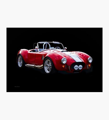 1965 Shelby Cobra 'Rally' Roadster I Photographic Print