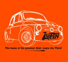 Lupin Central - Fiat 500 Plate by lupincentral