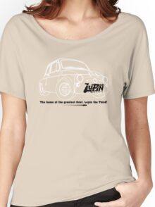 Lupin Central - Fiat 500 Plate Women's Relaxed Fit T-Shirt