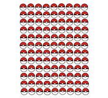 Pokemon - Pokeballs  Photographic Print