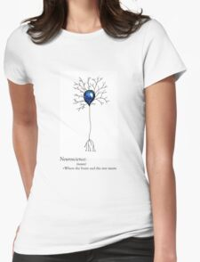 Poetic Neuroscience Definition Womens Fitted T-Shirt