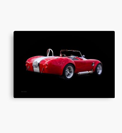 1965 Shelby Cobra 'Rally' Roadster II Canvas Print