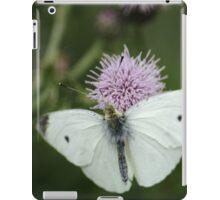 Small White On Thistle iPad Case/Skin