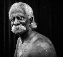Moustache and Man by Michiel de Lange