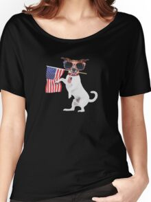 American pug Women's Relaxed Fit T-Shirt