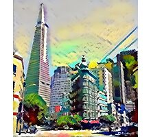 Downtown San Francisco California Photographic Print