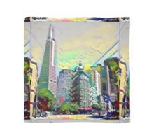 Downtown San Francisco California Scarf