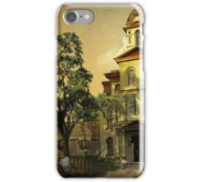 Vintage Cabarrus County Courthouse iPhone Case/Skin