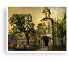 Vintage Cabarrus County Courthouse Canvas Print