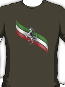 Ferrari Lover #2 [Silver - Black] T-Shirt
