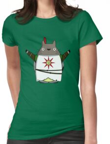 Praise the Totoro Womens Fitted T-Shirt
