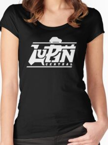 Lupin Central - Gone out for a ride! Women's Fitted Scoop T-Shirt