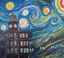 Auburn Starry Night by Susan Waby