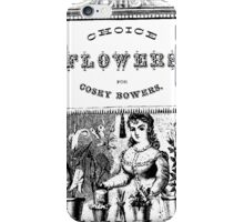 Choice Flowers iPhone Case/Skin