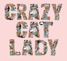 Crazy Cat Lady One Piece - Short Sleeve