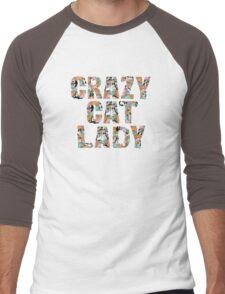 Crazy Cat Lady Men's Baseball ¾ T-Shirt
