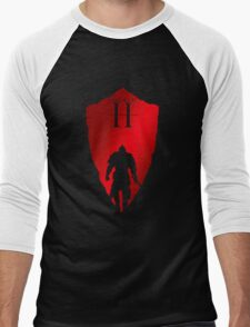 Knight Armour Shield Men's Baseball ¾ T-Shirt
