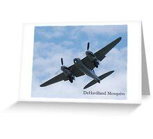 DeHavilland Mosquito Greeting Card