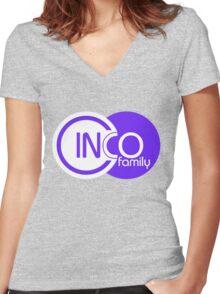 Cinco Family Women's Fitted V-Neck T-Shirt