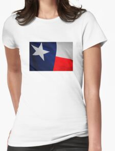 The Texas Flag Womens Fitted T-Shirt