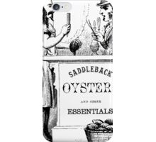 Saddleback Oysters iPhone Case/Skin