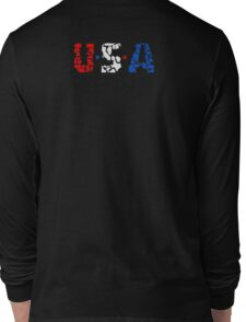 U S A Long Sleeve T-Shirt