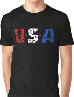 U S A Graphic T-Shirt