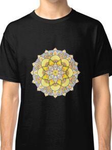 Yellow mandala Classic T-Shirt