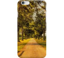 Home In Time For Supper iPhone Case/Skin