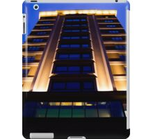 Building in the blue hour iPad Case/Skin