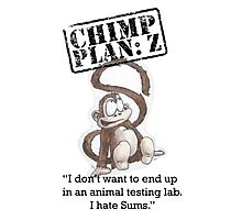 Henry - Chimp Plan: Z Photographic Print