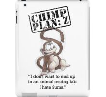 Henry - Chimp Plan: Z iPad Case/Skin